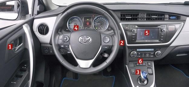 Przewodnik Po Wnetrzu Aurisa Hybrid Mobilna Interia W Interia Pl