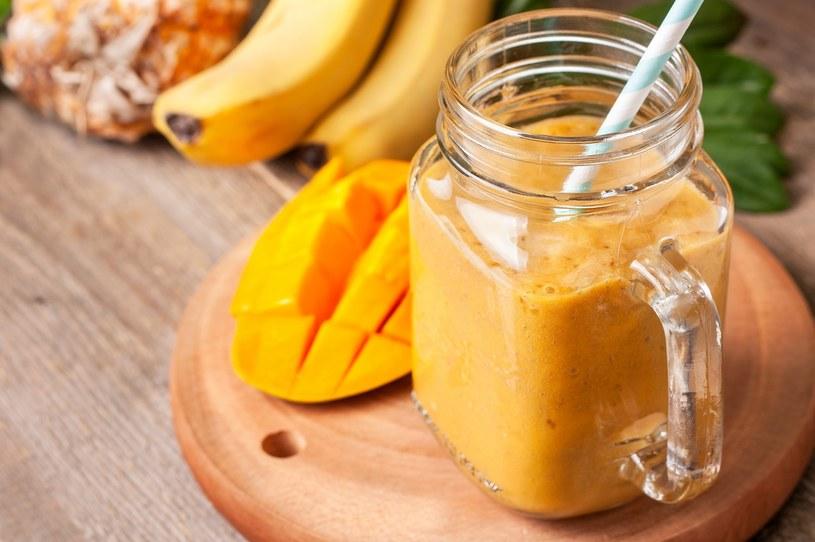 Koktajl z mango /materiały prasowe