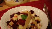 Kolacyjna salatka sledziowa