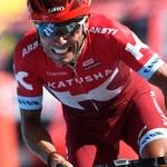 Kolarstwo. Groźny wypadek Joaquima Rodrigueza na rowerze