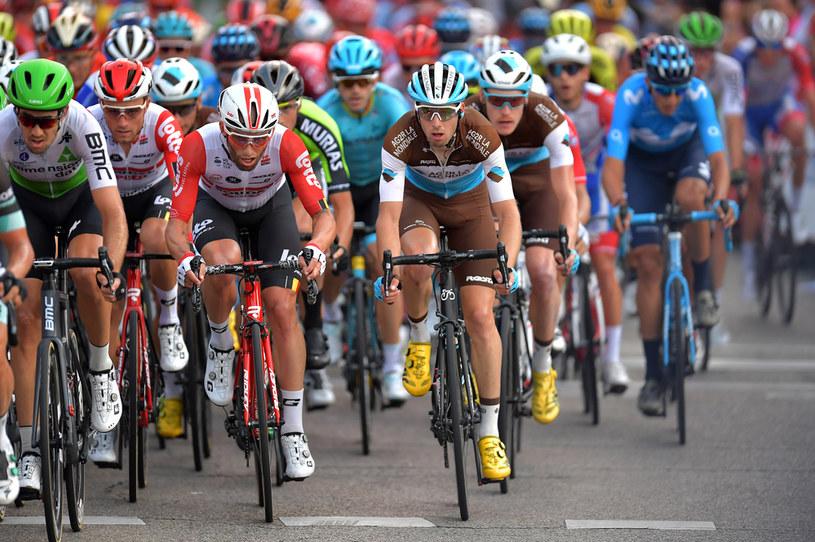 Kolarze podczas Vuelta a Espana /Justin Setterfield /Getty Images
