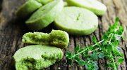 Kółeczka z zieloną herbatą