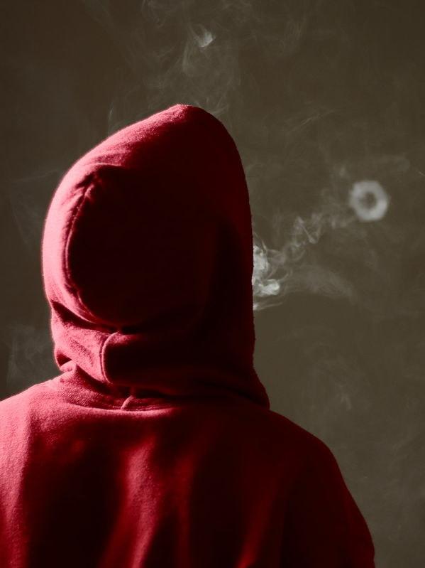 Kółeczko z dymu /©123RF/PICSEL