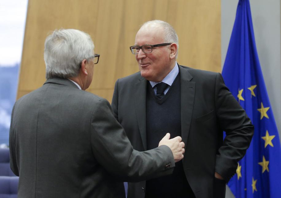 Kolegium komisarzy będzie już wkrótce musiało ocenić zmiany w polskim prawie w związku z nowelizacją ustawy o SN /OLIVIER HOSLET /PAP/EPA