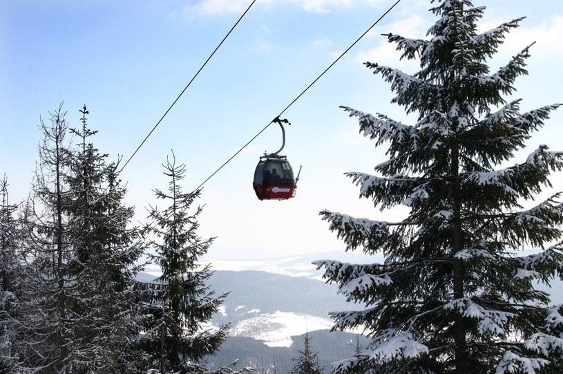 Kolej linowa na szczyt Jaworzyna Krynicka /Joanna Gajcy /East News