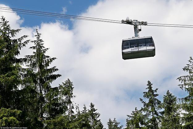 Kolej linowa to transport ekologiczny i tańszy /fot. Damian Klamka /East News