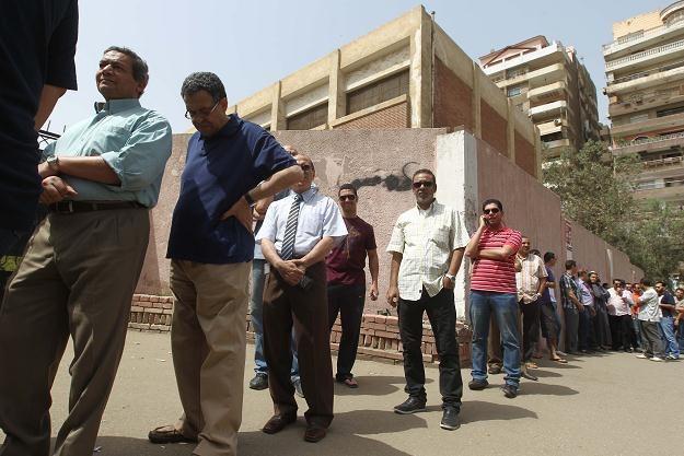Kolejka do lokalu wyborczego /AFP