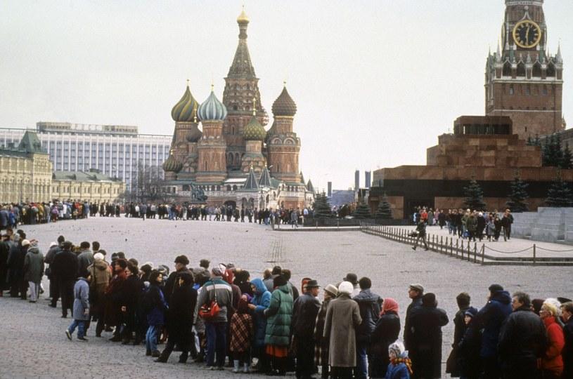 Kolejka do Mauzoleum Lenina /Wojtek Laski /East News