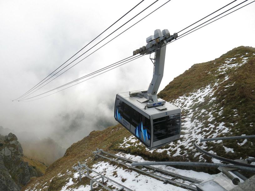 Kolejka na Kasprowy Wierch jest stałym elementem krajobrazu tatrzańskiego /Adrian Slazok/REPORTER /East News