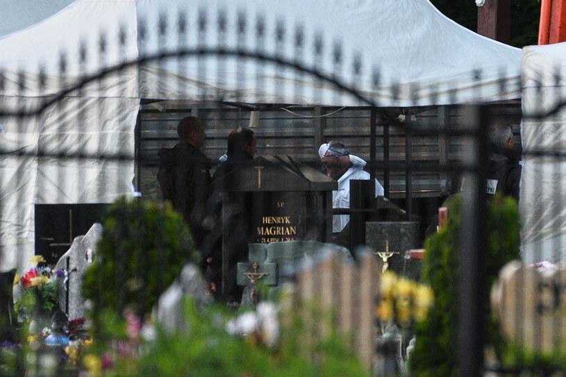 Kolejna ekshumacja po katastrofie smoleńskiej (zdjęcie ilustracyjne) /Łukasz Dejnarowicz /Agencja FORUM