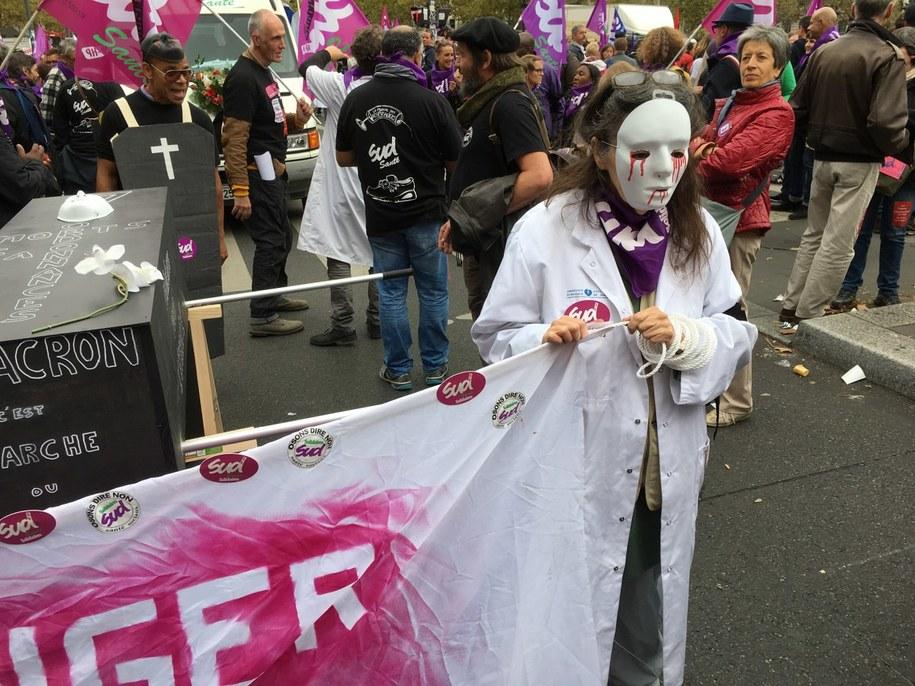 Kolejna fala demonstracji i strajków we Francji /Marek Gładysz /RMF FM