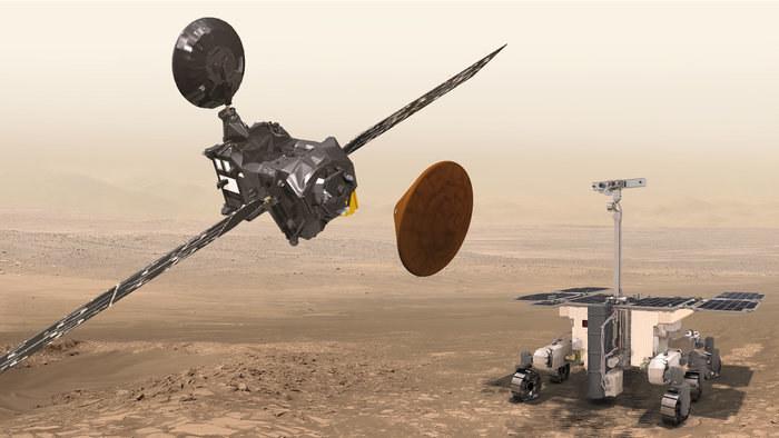 Kolejna odsłona misji ExoMars dopiero w 2020 r. /materiały prasowe