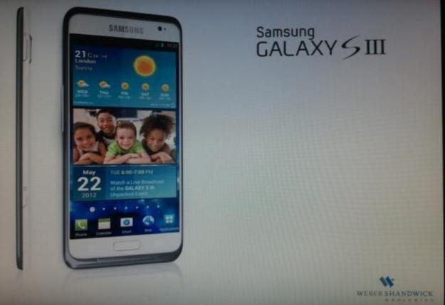 Kolejna twarz Galaxy S III.  Fot. komórkomania.pl /Internet