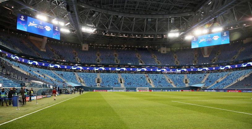 Kolejną wielką imprezą, zaplanowaną na 2021 rok na Stadionie Sankt-Petersburg, jest finał Ligi Mistrzów w 2021 roku. /Sven Sonntag /East News