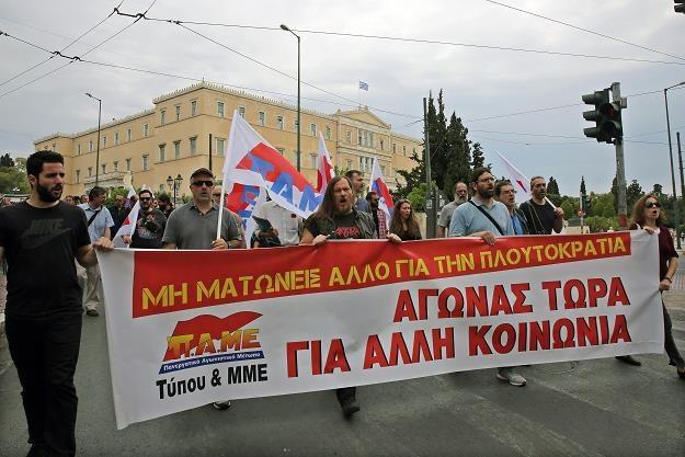 Kolejne grupy zawodowe dołączyły do strajku generalnego w Grecji /EPA