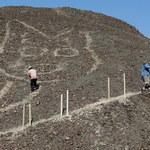 Kolejne odkrycie w Nazca. Olbrzymi rysunek kota na płaskowyżu