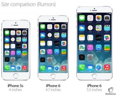 Kolejne plotki o większych iPhone'ach