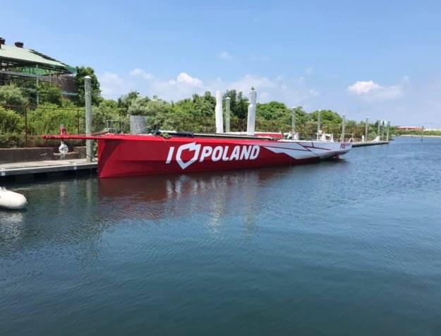 Kolejne problemy jachtu I Love Poland, który miał promować nasz kraj /Paweł Żuchowski /RMF FM