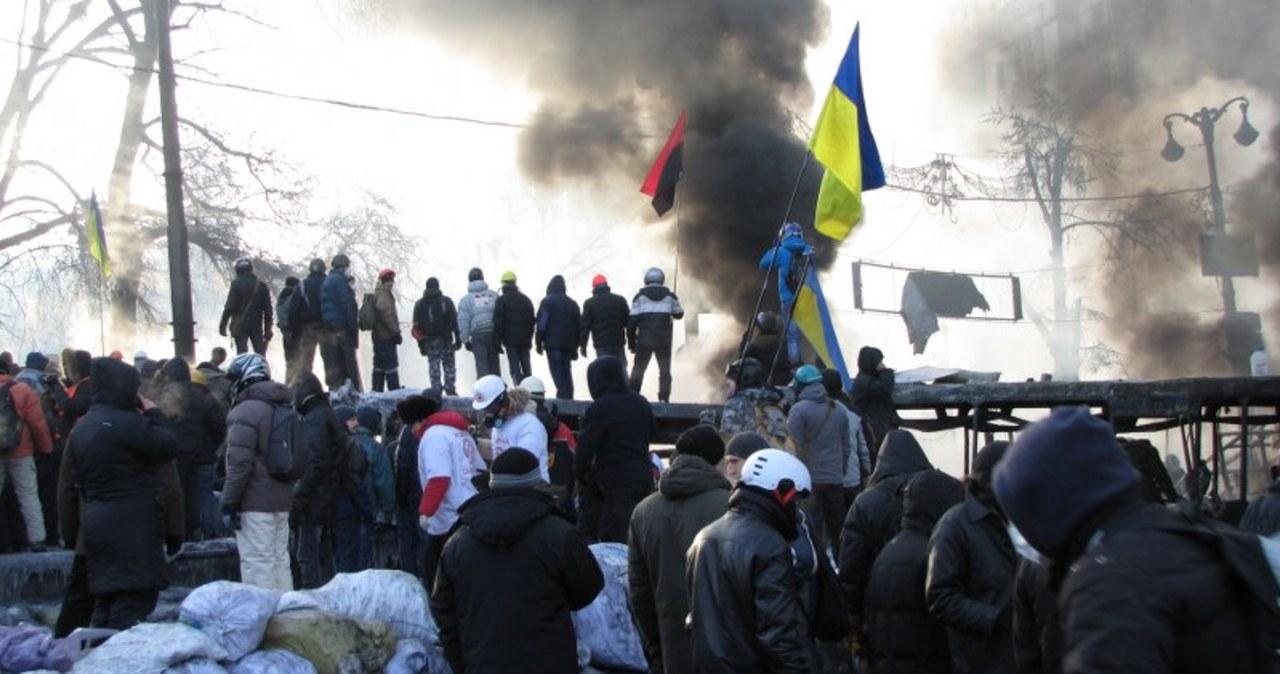 Kolejne protesty i starcia na Ukrainie