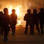 Kolejne starcia z policją w Katalonii. W ruch poszły petardy i butelki z benzyną