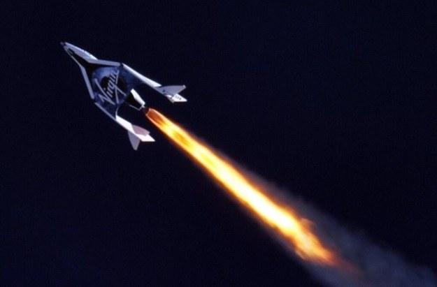 Kolejne testy SpaceShipTwo - nowego wahadłowca od Virgin Galactic /materiały prasowe