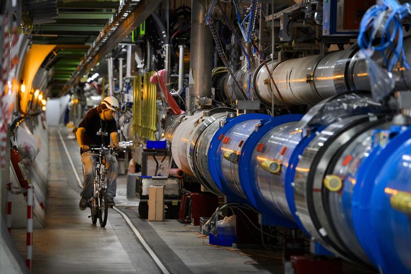 Kolejne ważne odkrycie Wielkiego Zderzacza Hadronów /AFP