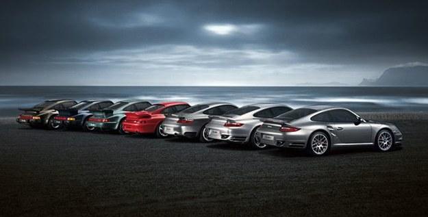 Kolejne wcielenia Porsche 911 Turbo (1974-2010) /Porsche