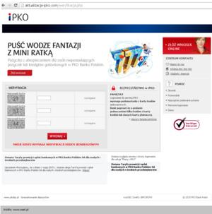 Kolejny atak na klientów PKO BP