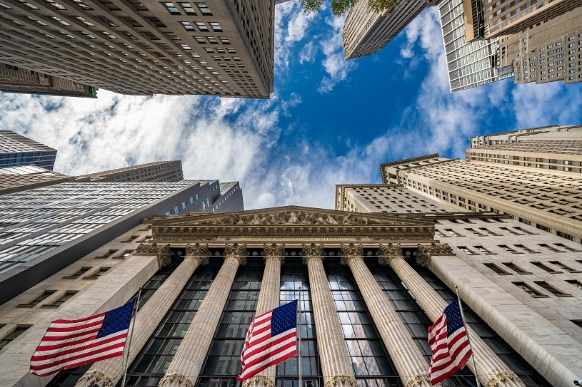 Kolejny dzień i znowu rekordy wszech czasów na amerykańskich giełdach. Nz. NYSE /AFP