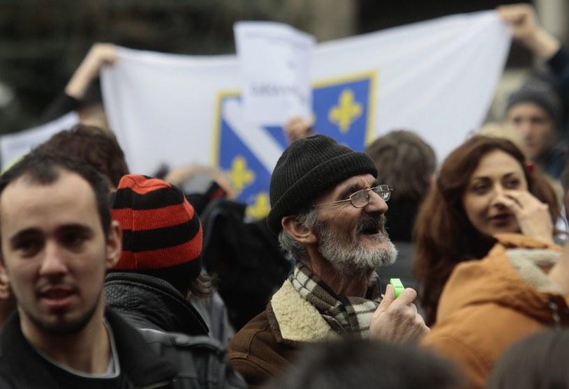 Kolejny dzień protestów, demonstranci domagają się rządu ekspertów /PAP/EPA