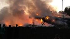 Kolejny pożar wysypiska śmieci. Ogień pojawił się na wielkiej hałdzie