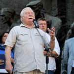 Kolejny protest przed Sądem Najwyższym. Lech Wałęsa: Grozi nam kryterium uliczne