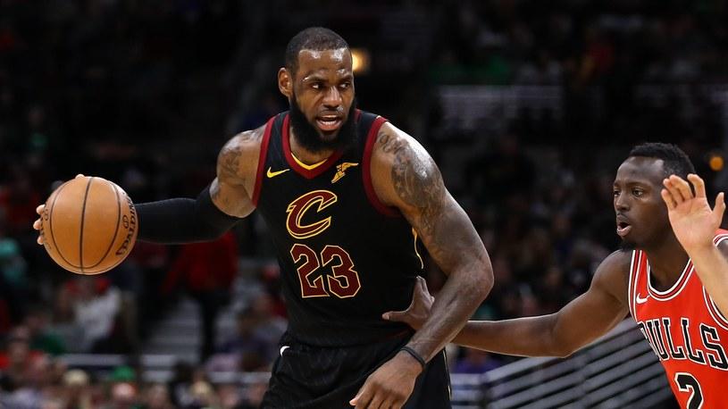 Kolejny rekord - LeBron James superstar /SID