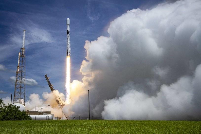 Kolejny satelita GPS III wynoszony rakietą SpaceX /materiały prasowe