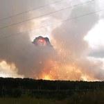 Kolejny wybuchy na Syberii. Piorun uderzył w platformy z amunicją