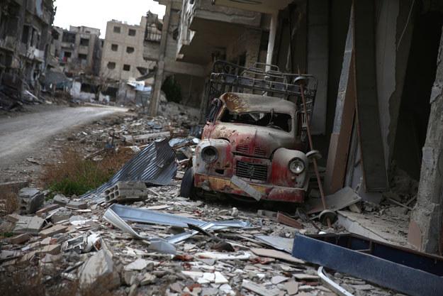 Kolejny zamach w Damaszku (zdjęcie ilustracyjne) /AFP