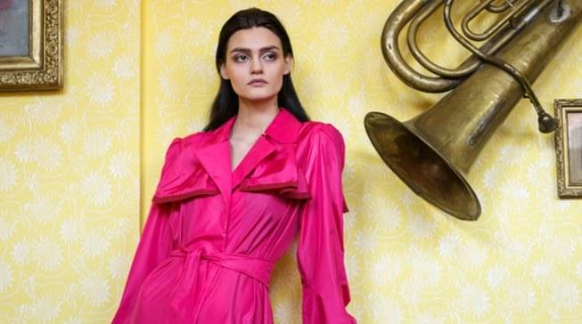 """Kolekcja """"Fartuszek"""" Agnieszki Wolnicy została wysoko oceniona przez jurorów konkursu  Cracow Fashion Awards /materiały prasowe"""