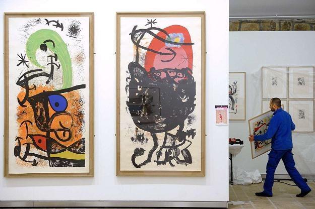 Kolekcja genialnego malarza i rzeźbiarza Joana Miró pójdzie na sprzedaż /AFP