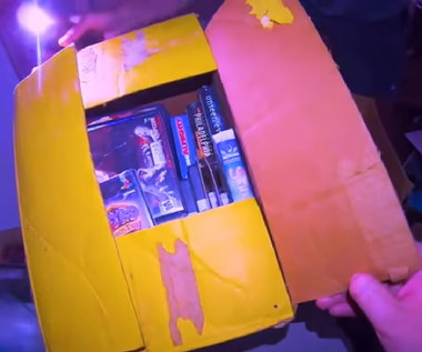 Kolekcja gier warta krocie odnaleziona w opuszczonym domu