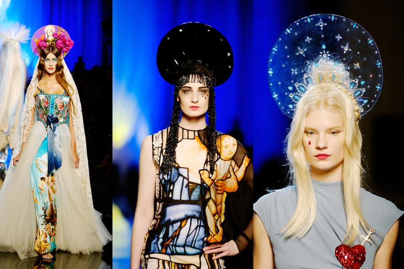 Kolekcja Jean Paula Gaultier z 2007 roku, fot. Chris Moore/Catwalking / Contributor /Getty Images