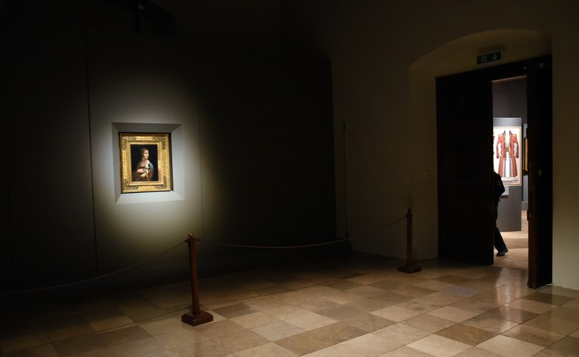 """Kolekcja zawiera m.in. """"Damę z gronostajem"""" Leonarda da Vinci /Marek Lasyk  /Reporter"""