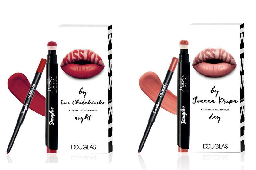 Kolekcje  'Kiss Kit by Joanna Krupa' i 'Kiss Kit by Ewa Chodakowska' /materiały prasowe