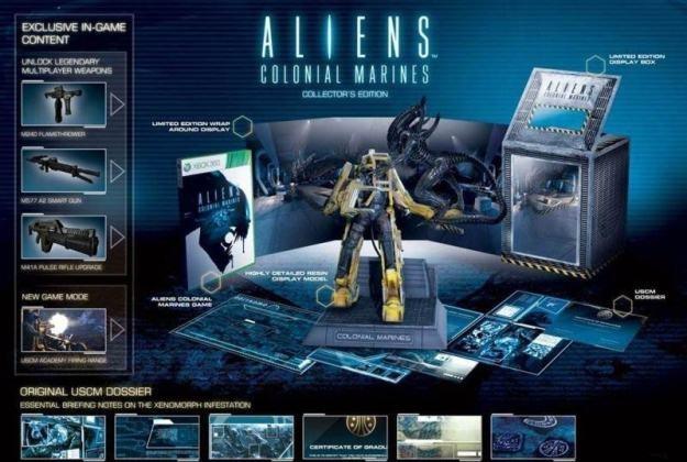 Kolekcjonerska edycja gry Aliens: Colonial Marines /CDA