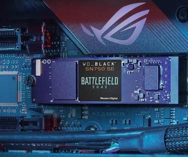 Kolekcjonerski dysk Western Digital dla fanów gry Battlefield 2042