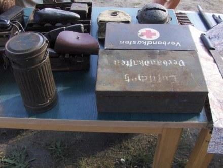 Kolekcjonerzy sprzętu wojskowego /portalpomorza.pl