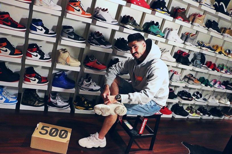Kolekcjonowanie sneakersów Mohammed rozpoczął na studiach w USA /East News