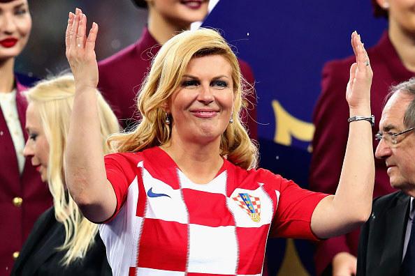 Kolinda Grabar-Kitarović. Moskwa /Getty Images