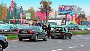 Kolizja drogowa - usuwanie pojazdu