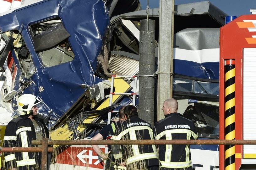 Kolizja pociągów pod Lozanną /PAP/EPA