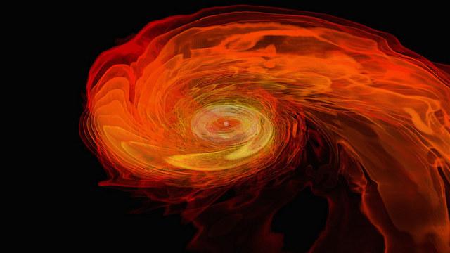 Kolizje gwiazd neutronowych to jedne z najbardziej niezwykłych zjawisk we wszechświecie /NASA